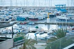 Peut la marina de Pastilla Images libres de droits