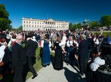 17 peuvent célébration d'Oslo Norvège Images libres de droits