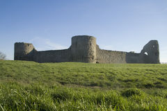 Pevensey castle Royalty Free Stock Photos