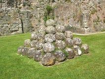 Pevensey slott Canon Royaltyfri Foto