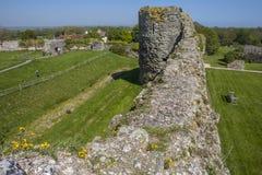 Pevensey slott i östliga Sussex arkivfoton