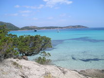 Pevero beach sardinia Stock Photos