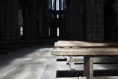 pew εκκλησιών Στοκ Εικόνα