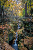 Pewits Nest Falls Royalty Free Stock Photography