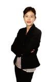 pewna kobieta japońska Zdjęcia Royalty Free