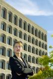 pewna kobieta jednostek gospodarczych Fotografia Royalty Free