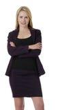 pewna kobieta jednostek gospodarczych Obrazy Stock
