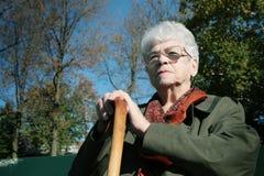 pewna kobieta starsza zdjęcie royalty free