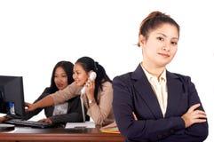 pewni bizneswomanów young obrazy stock