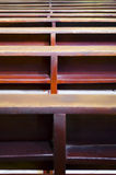 pews εκκλησιών Στοκ Φωτογραφία