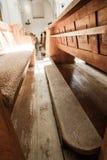 pews εκκλησιών Στοκ εικόνα με δικαίωμα ελεύθερης χρήσης