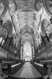 Pews στον καθεδρικό ναό του Έξετερ, Αγγλία Στοκ Εικόνες