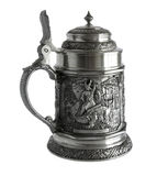 Pewter beer tankard Royalty Free Stock Photography