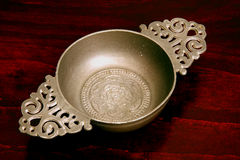 Pewter Bowl Royalty Free Stock Photos