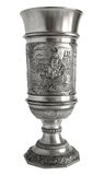 Pewter cup The Song of the Nibelungs Royalty Free Stock Photography