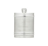 Pewter flask. Outdoor pewter flask for water or alcohol royalty free stock photos