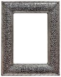 Pewter Mirror Frame Cutout Stock Photo