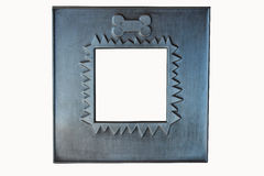 Pewter Pet Frame Royalty Free Stock Photos
