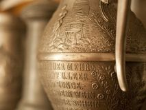 Pewter pitcher Stock Images