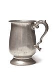 Pewter tankard Stock Photo