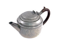 Pewter tea pot Stock Photos