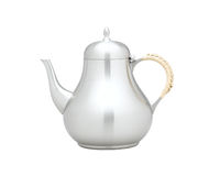 Pewter teapot Stock Images
