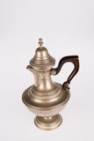Pewter teapot Stock Photography