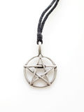 PewterPentacle Royaltyfri Foto