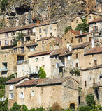 Peyre, old village near Millau Stock Photos