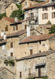 Peyre, old village near Millau Royalty Free Stock Image