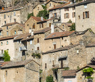 Peyre, old village near Millau Stock Photography