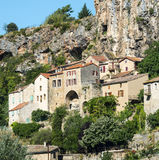 Peyre, old village near Millau Royalty Free Stock Photo