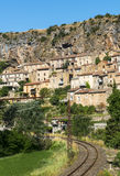 Peyre, old village near Millau Royalty Free Stock Images