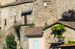 Peyre, old village near Millau Stock Image