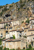 Peyre, old village near Millau Stock Photo