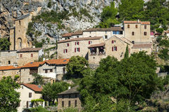 Peyre, old village near Millau Royalty Free Stock Photos