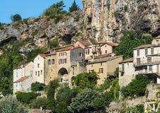 Peyre, vieux village près de Millau images stock