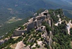 Peyrepertuse castle Royalty Free Stock Image