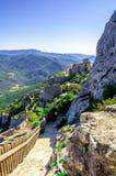 Peyrepertuse Cathar Castle Royalty Free Stock Photos