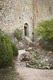 Peyrepertuse-Schloss Lizenzfreies Stockbild