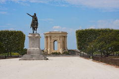 Peyrou Royal Square Royalty Free Stock Photography
