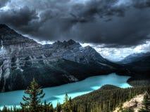 peyto λιμνών του Καναδά Στοκ φωτογραφία με δικαίωμα ελεύθερης χρήσης