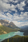 Peyto Lake in Banff National Park, Canada Royalty Free Stock Photography