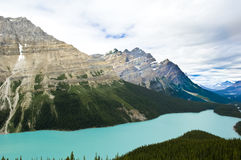 Peyto Lake, Canada Stock Photos