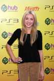 Peyton List. LOS ANGELES - OCT 22: Peyton List arriving at the 2011 Variety Power of Youth Evemt at the Paramount Studios on October 22, 2011 in Los Angeles, CA royalty free stock images