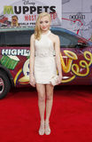 Peyton List. At the Los Angeles premiere of Muppets Most Wanted held at the El Capitan Theatre in Los Angeles, United States, 110314 Stock Photography