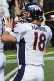 Peyton Manning Fotografia Stock Libera da Diritti
