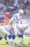 Peyton Manning Indianapolis Colts Fotografie Stock