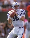 Peyton Manning, Indianapolis Colts Fotografia Stock Libera da Diritti