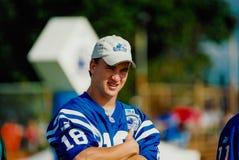 Peyton Manning QB Challenge Royalty Free Stock Images